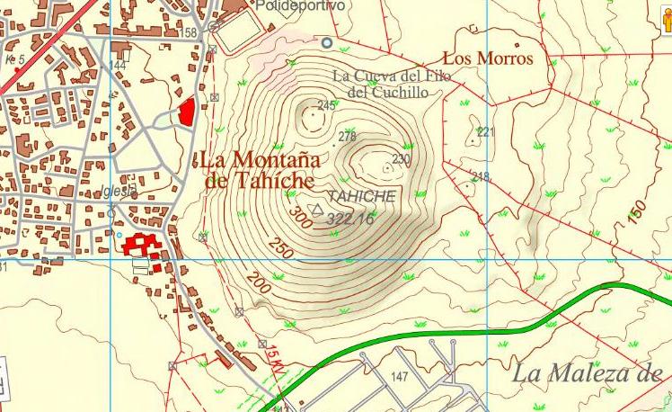 tahiche mapa